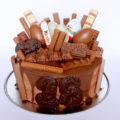 Kinderchocolade taart