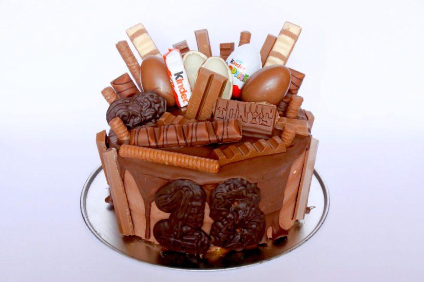 Top Recept: Kinderchocolade taart - Asjemeclau CD-36